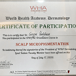 Dr. George Koluthara   Scalpe Micropigmentation Certificate