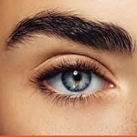 Excess hair removal of eyebrow
